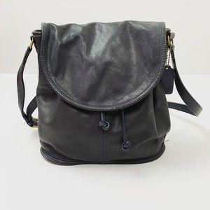 VINTAGE Navy Coach Bucket Bag
